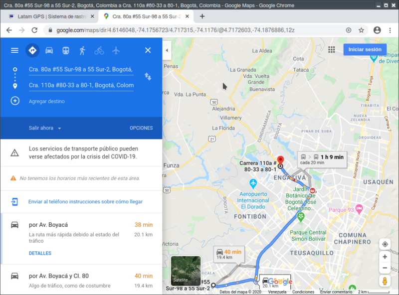 Ubicación con Google Maps